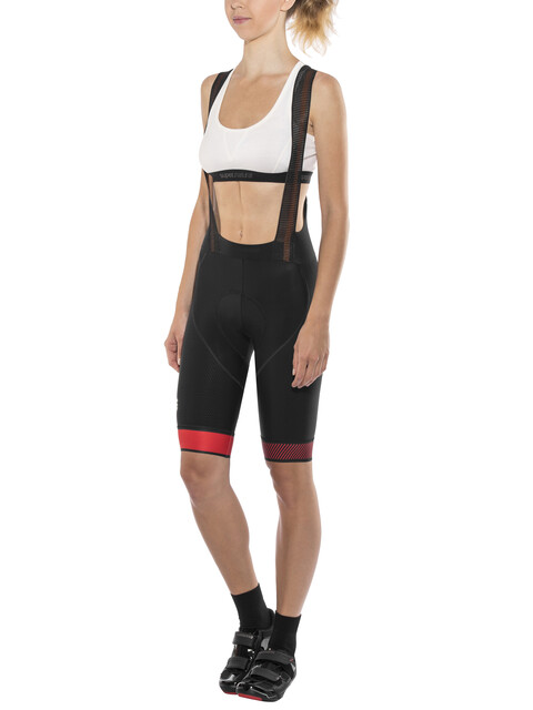 Sportful Bodyfit Pro LTD Bibshorts Women black/red